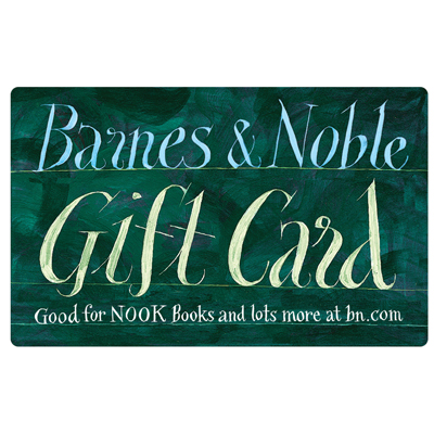 BARNES & NOBLE<sup>&reg;</sup> $25 Gift Card - Perfect for book lovers or anyone who likes games, music, stationery, and more!