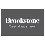 BROOKSTONE<sup>®</sup> $25 Gift Card