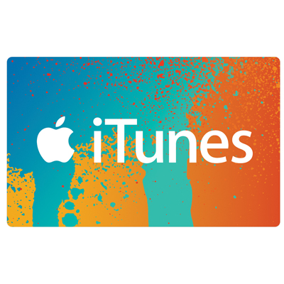 ITUNES<sup>&reg;</sup> $25 Gift Card - Your source for music, movies, TV shows, and more!